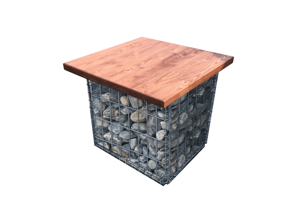 gabion deco jardin mur ou muret gabion optez pour un. Black Bedroom Furniture Sets. Home Design Ideas